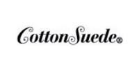 Cotton suede