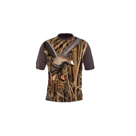 T-shirt Oie camo (manches courtes)