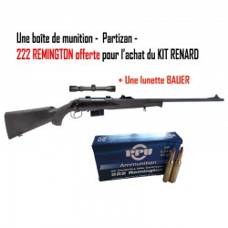 Kit renard - Lunette BAUER