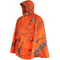 Poncho imperméable (Orange)