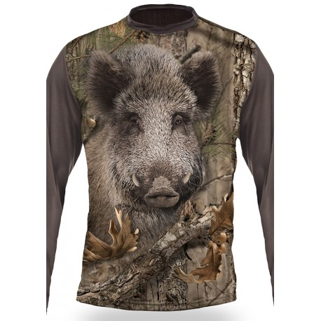 BOAR (manches longues, Camo)
