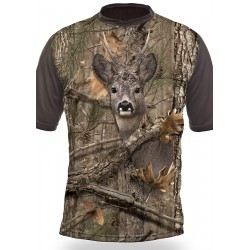 T-SHIRT BROCARD (manches courtes, Camo)