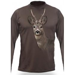 T-shirt Brocard (manches longues, VERT)