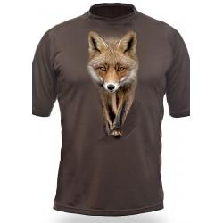T-shirt RENARD  (manches courtes, Vert)