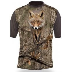 T-shirt RENARD (manches courtes, Camo)