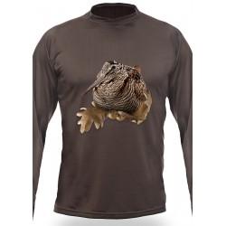 T-shirt Bécasse (manches longues, Vert)