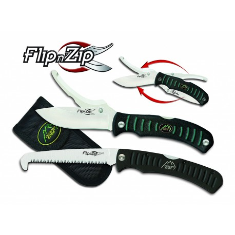 Flip n' Zip Scie Combo Outdoor Edge